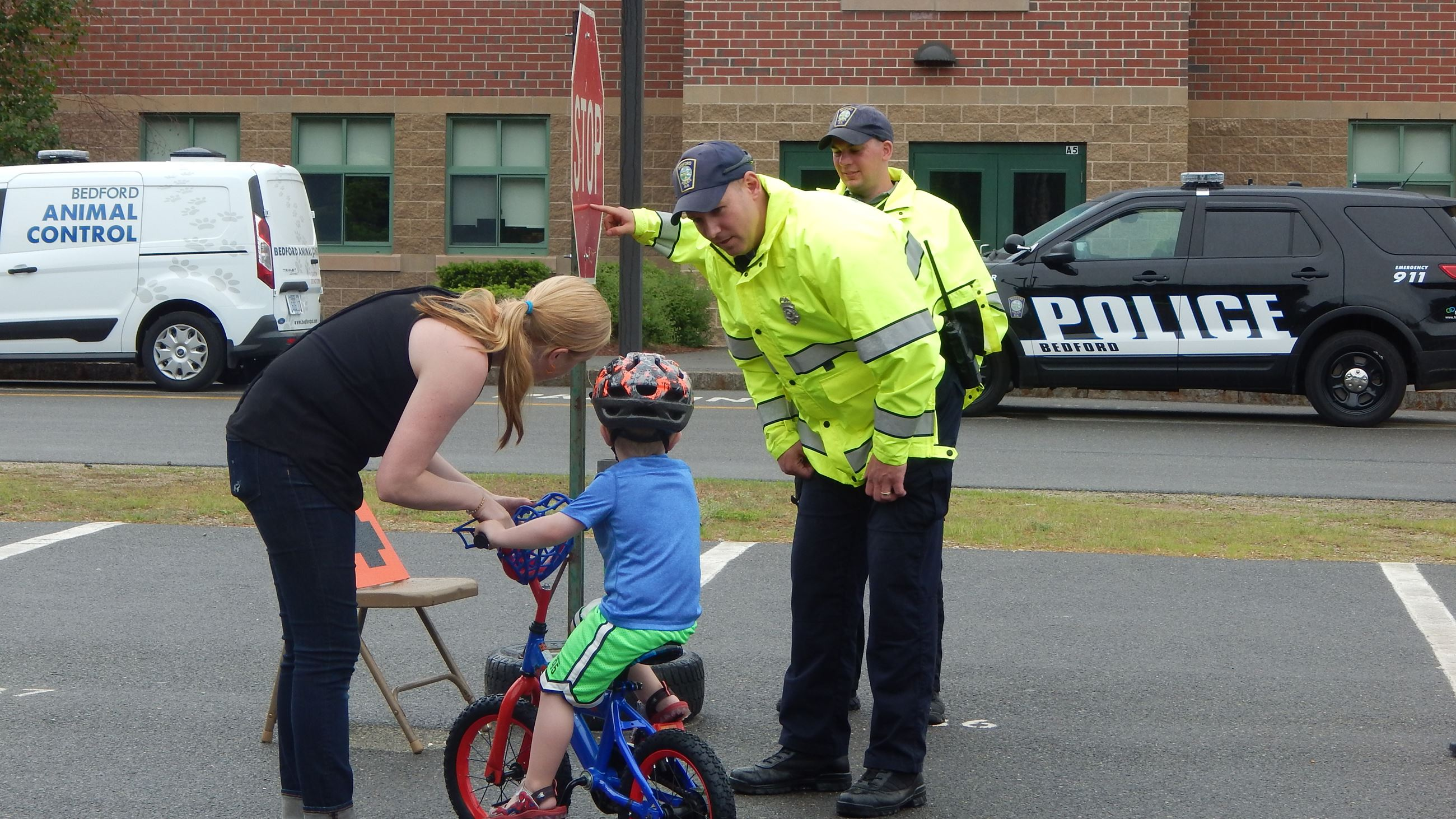 Bike Rodeo COPS contest